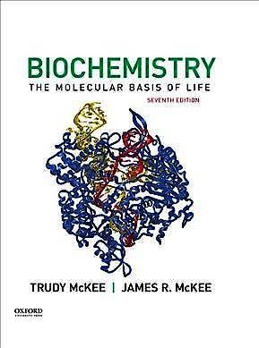 Portada del libro 9780190847609 Biochemistry. The Molecular Basis of Life