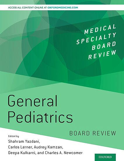 Portada del libro 9780190848712 General Pediatrics Board Review