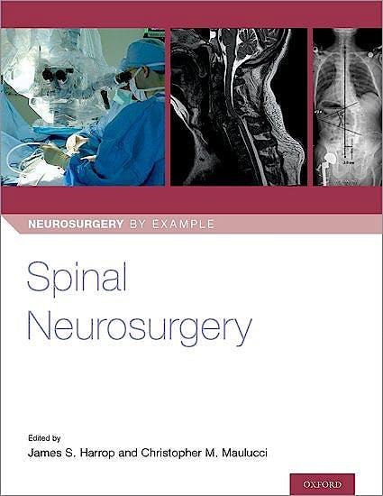 Portada del libro 9780190887773 Spinal Neurosurgery