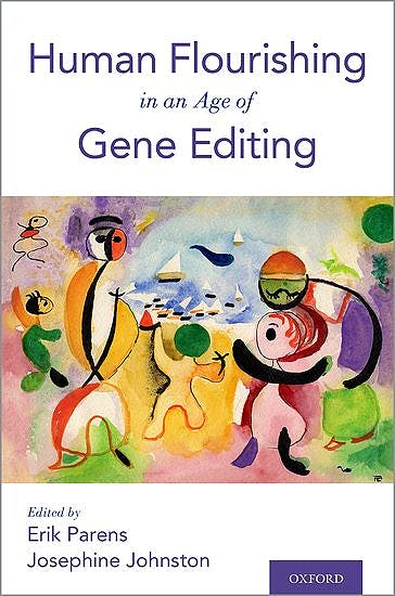 Portada del libro 9780190940362 Human Flourishing in an Age of Gene Editing
