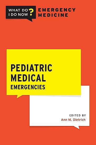 Portada del libro 9780190946678 Pediatric Medical Emergencies