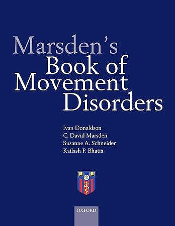 Portada del libro 9780192619112 Marsden's Book of Movement Disorders