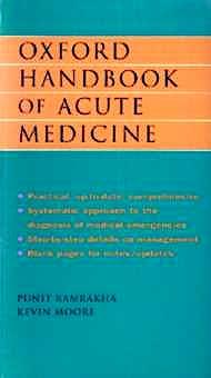 Portada del libro 9780192626820 Oxford Handbook of Acute Medicine