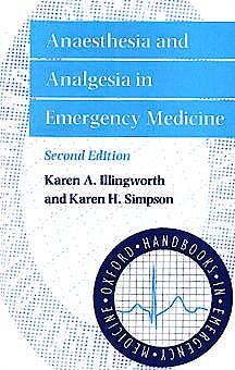 Portada del libro 9780192629081 Anaesthesia and Analgesia in Emergency Medicine (Paperback)