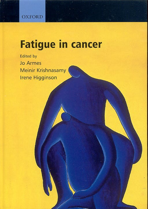 Portada del libro 9780192630940 Fatigue in Cancer