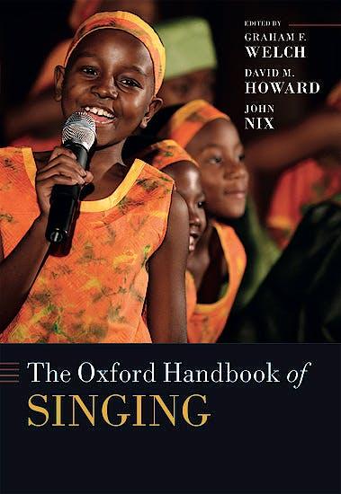 Portada del libro 9780192894182 The Oxford Handbook of Singing (Paperback)