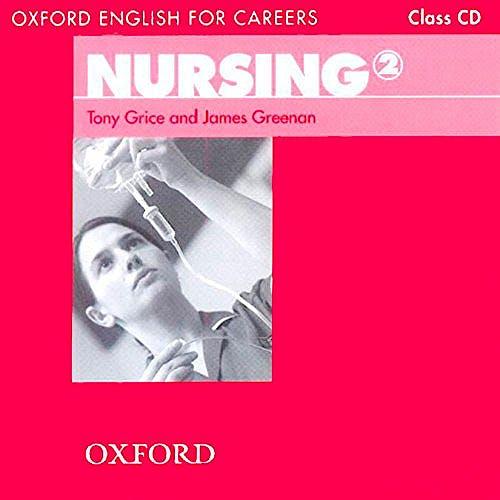 Portada del libro 9780194569910 Oxford English for Careers. Nursing 2 Class CD