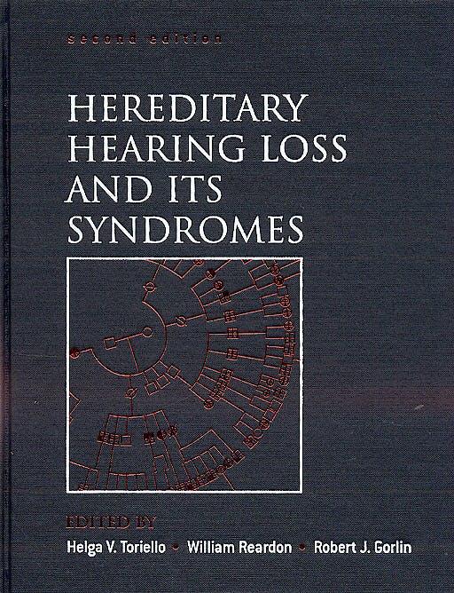 Portada del libro 9780195138498 Hereditary Hearing Loss and Its Syndromes