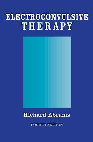 Portada del libro 9780195148206 Electroconvulsive Therapy