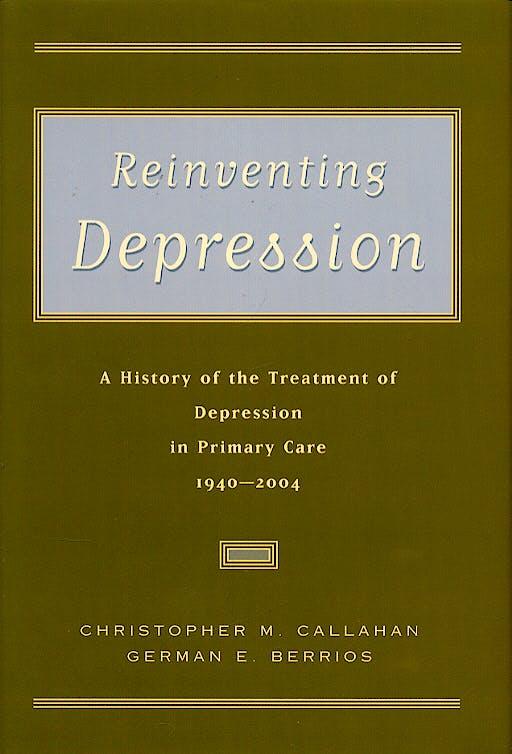 Portada del libro 9780195165234 Reinventing Depression