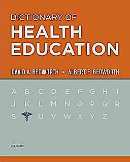 Portada del libro 9780195342598 Dictionary of Health Education