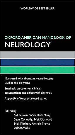Portada del libro 9780195369793 Oxford American Handbook of Neurology