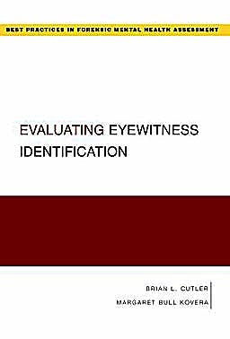 Portada del libro 9780195372687 Evaluating Eyewitness Identification