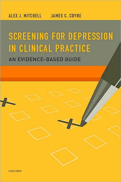 Portada del libro 9780195380194 Screening for Depression in Clinical Practice. an Evidence-Based Guide