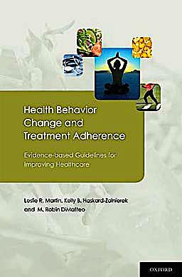 Portada del libro 9780195380408 Health Behavior Change and Treatment Adherence. Evidence-Based Guidelines for Improving Healthcare