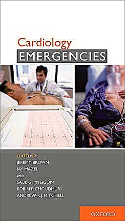Portada del libro 9780195383652 Cardiology Emergencies