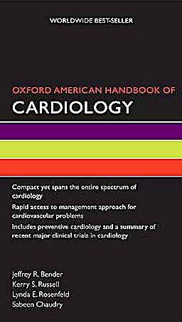 Portada del libro 9780195389692 Oxford American Handbook of Cardiology