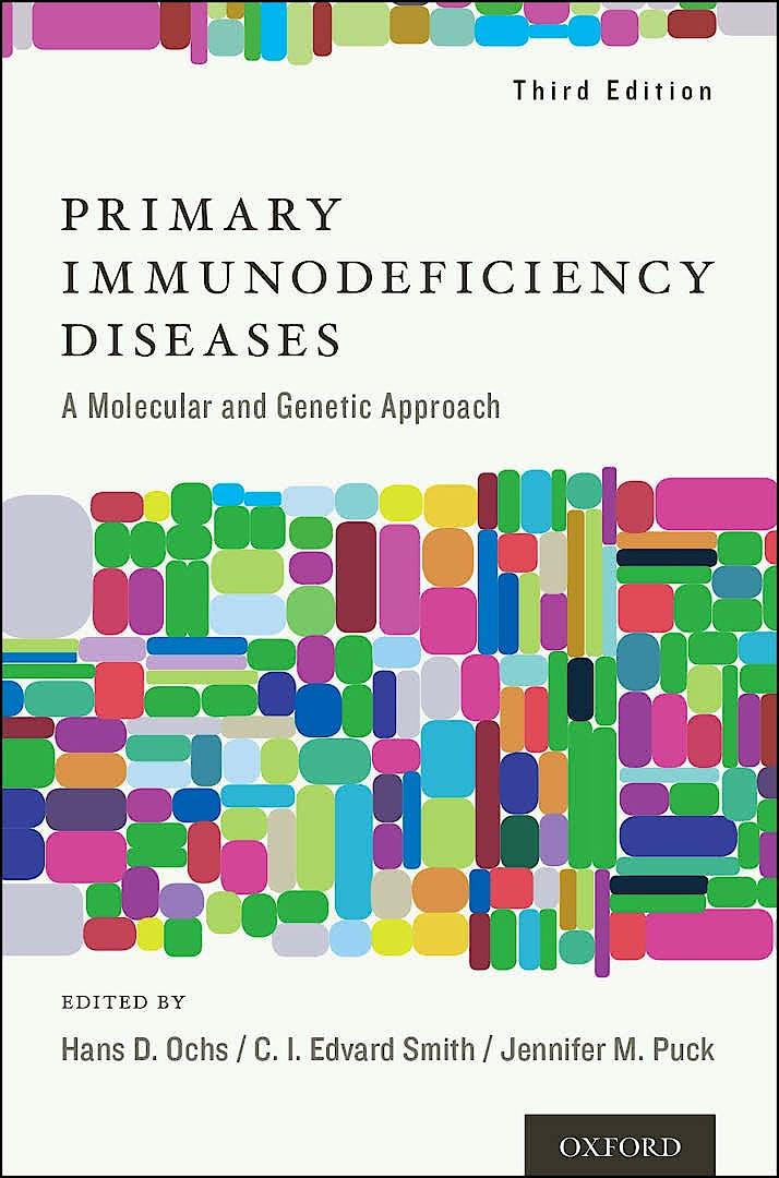 Portada del libro 9780195389838 Primary Immunodeficiency Diseases