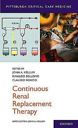 Portada del libro 9780195392784 Continuous Renal Replacement Therapy