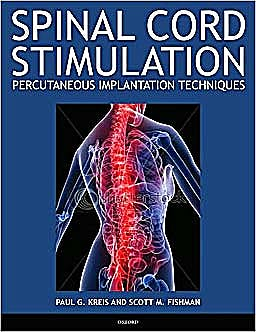 Portada del libro 9780195393651 Spinal Cord Stimulation. Percutaneous Implantation Techniques
