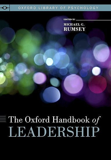 Portada del libro 9780195398793 Oxford Handbook of Leadership (Oxford Library of Psychology)