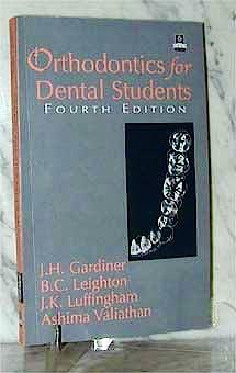 Portada del libro 9780195645682 Orthodontics for Dental Students