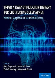 Portada del libro 9780197521625 Upper Airway Stimulation Therapy for Obstructive Sleep Apnea. Medical, Surgical, and Technical Aspects