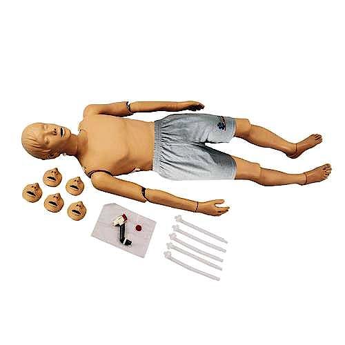 Maniquí de Adulto para Resucitación Cardiopulmonar con Controlador Luminoso