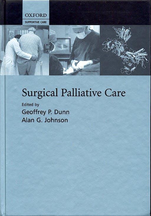 Portada del libro 9780198510000 Surgical Palliative Care