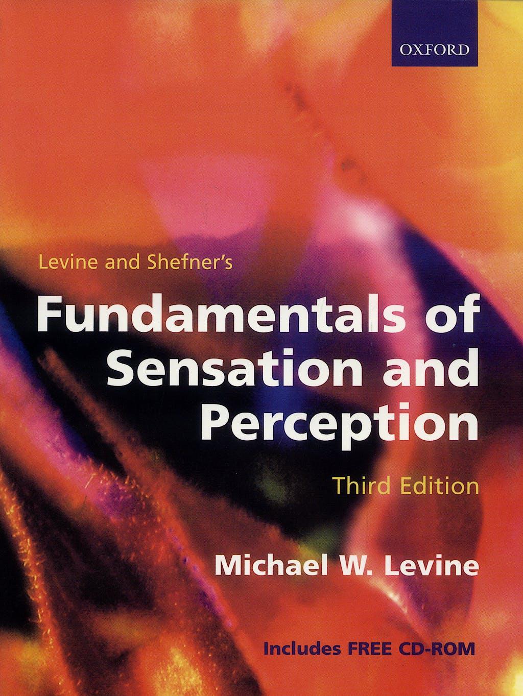 Portada del libro 9780198524663 Fundamentals of Sensation and Perception