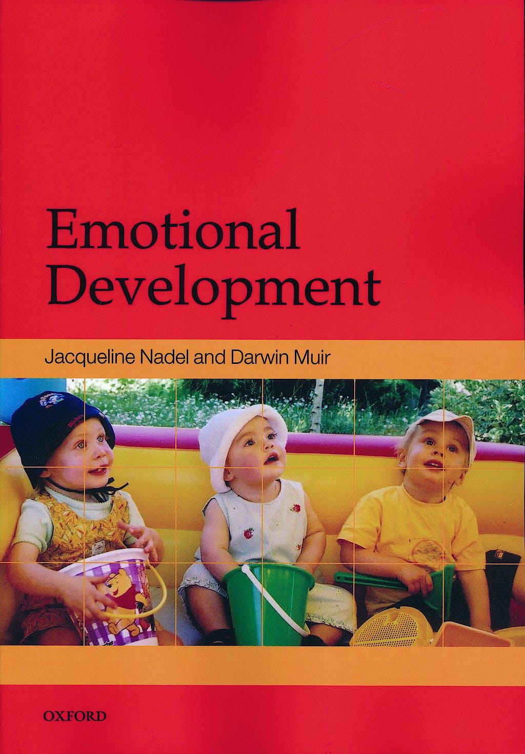 Portada del libro 9780198528845 Emotional Development: Recent Research Advances