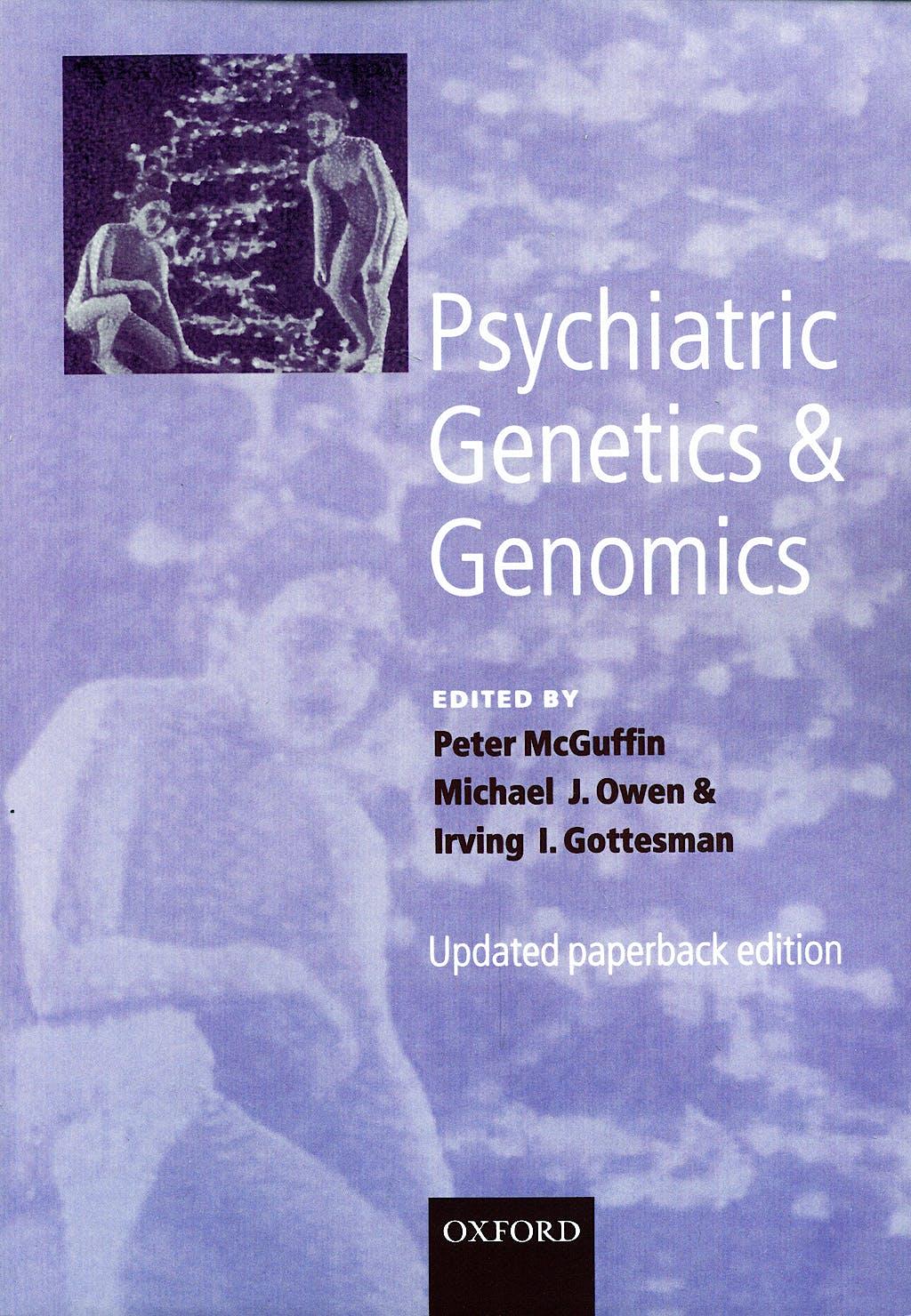 Portada del libro 9780198564867 Psychiatric Genetics and Genomics