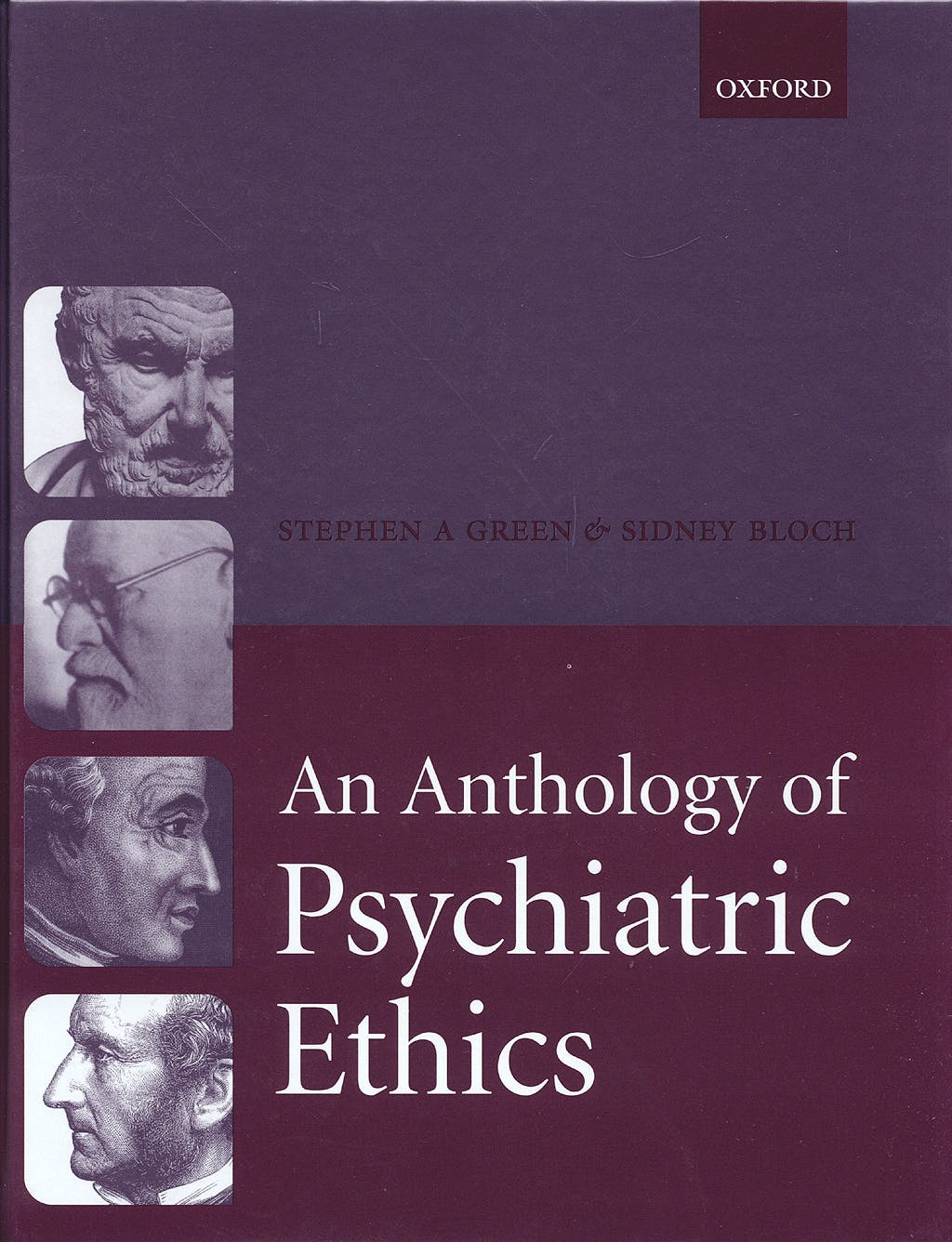 Portada del libro 9780198564874 An Anthology of Psychiatric Ethics