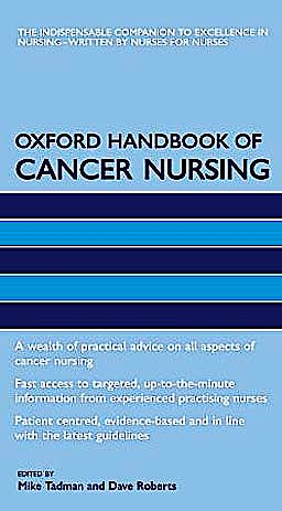 Portada del libro 9780198569244 Oxford Handbook of Cancer Nursing