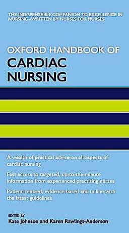 Portada del libro 9780198570721 Oxford Handbook of Cardiac Nursing
