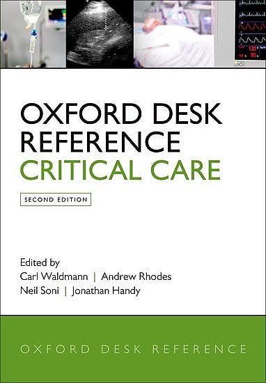 Portada del libro 9780198723561 Oxford Desk Reference. Critical Care