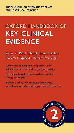 Portada del libro 9780198729426 Oxford Handbook of Key Clinical Evidence