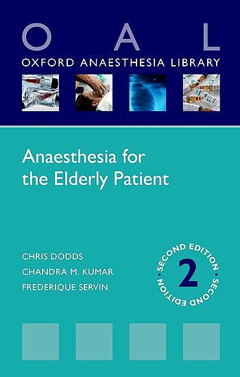 Portada del libro 9780198735571 Anaesthesia for the Elderly Patient (Oxford Anaesthesia Library)