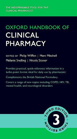 Portada del libro 9780198735823 Oxford Handbook of Clinical Pharmacy