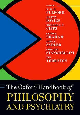 Portada del libro 9780198744252 The Oxford Handbook of Philosophy and Psychiatry