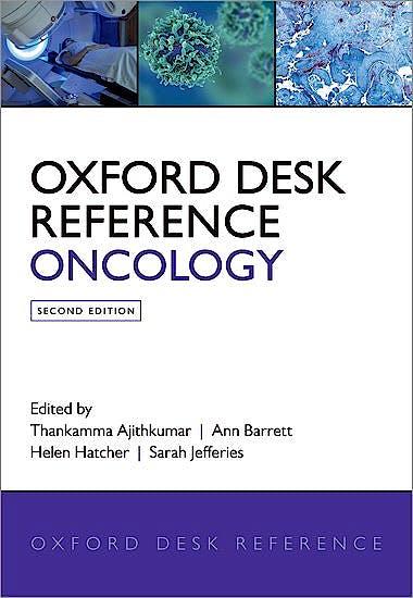 Portada del libro 9780198745440 Oxford Desk Reference Oncology