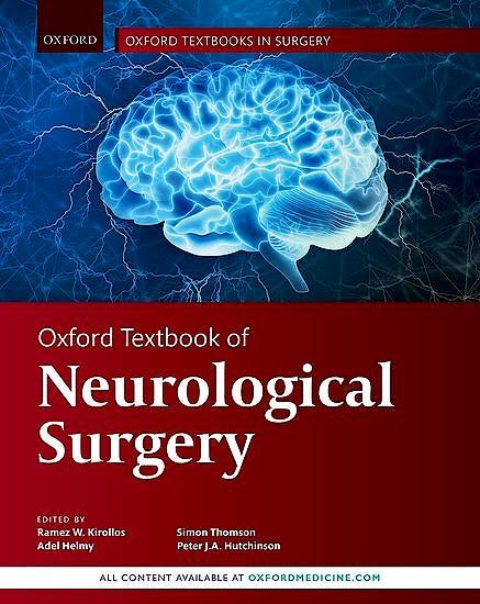 Portada del libro 9780198746706 Oxford Textbook of Neurological Surgery
