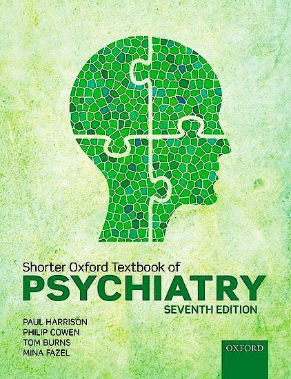 Portada del libro 9780198747437 Shorter Oxford Textbook of Psychiatry