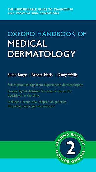 Portada del libro 9780198747925 Oxford Handbook of Medical Dermatology
