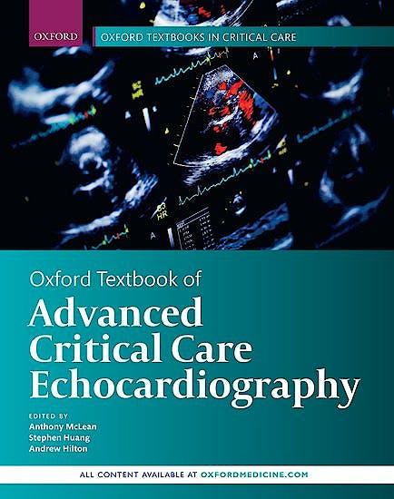 Portada del libro 9780198749288 Oxford Textbook of Advanced Critical Care Echocardiography (Oxford Textbooks in Critical Care)