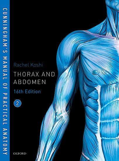 Portada del libro 9780198749370 Cunningham's Manual of Practical Anatomy, Vol. 2: Thorax and Abdomen