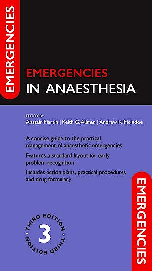 Portada del libro 9780198758143 Emergencies in Anaesthesia