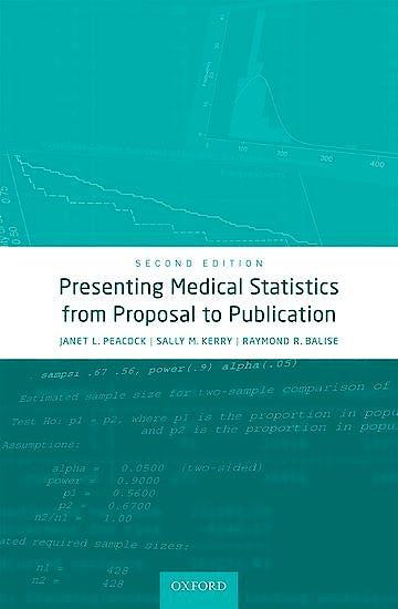 Portada del libro 9780198779100 Presenting Medical Statistics from Proposal to Publication