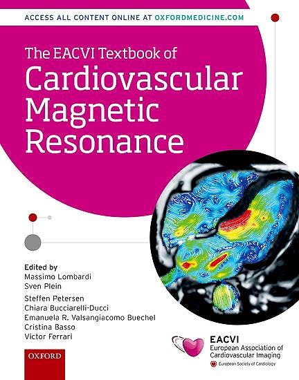 Portada del libro 9780198779735 The EACVI Textbook of Cardiovascular Magnetic Resonance (The European Society of Cardiology)