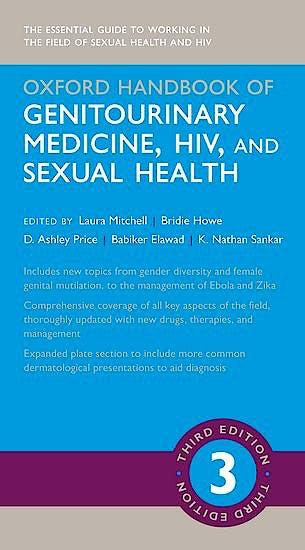 Portada del libro 9780198783497 Oxford Handbook of Genitourinary Medicine, HIV, and Sexual Health